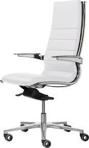 chaise de bureau cuir blanc fauteuil de bureau noir et blanc design clasto fauteuils de avec