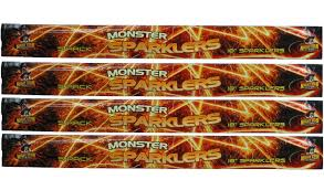 Where Can I Buy Sparklers Mammoth 18 Inch Giant Sparklers 20 Pieces Fast Delivery