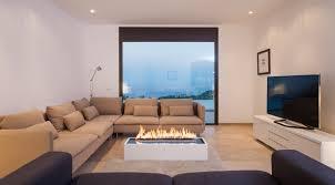 Wohnzimmer Design Mit Kamin Wohnzimmer Kamin Ethanol Home Design Inspiration