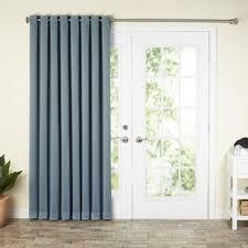 Single Patio Door Blackout Patio Door Curtains Wayfair
