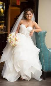 pnina tornai 4287 4 000 size 8 used wedding dresses