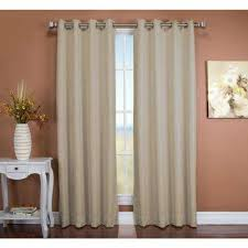 Yarn Curtains Light Brown Wood Curtains U0026 Drapes Window Treatments The