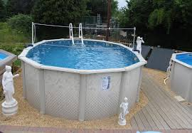 Above Ground Pool Design Ideas 24 By 52 Above Ground Pool Pool Design Ideas