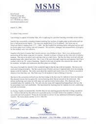 letter of recommendation for middle student from teacher