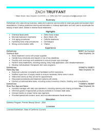 hairstylist resume exles salon and fitness printable cosmetology hair stylist resume sle