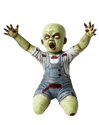 my spirit halloween props i have this zombie baby for my halloween yard decor he was a huge