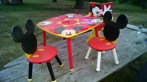 mickey mouse table l amusing mickey mouse table set ideas best image engine senbec com