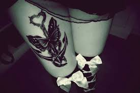 secret thigh tattoos that nobody will see