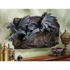Medieval Dragon Home Decor Garden Gargoyles