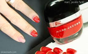 fashion nails marc jacobs fw15 16 fashion show manis seasonails