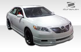 2007 toyota camry spoiler free shipping on duraflex 07 09 toyota camry non se racer front