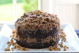 5 minute stovetop german chocolate cake frosting leah olson style