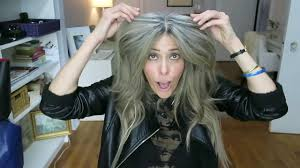 how to bring out gray in hair part i growing out my gray hair using cap bleach with olaplex