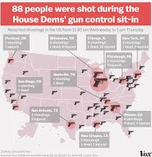 Map Of Shootings In Chicago by Gun Control Map Of Us Humphreydjemat Co