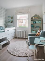 Childrens Interior Design Scandinavian Mint And Blue Girls Room - Interior design girls bedroom