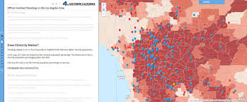 Zip Code Map Los Angeles by Racial Dot Map In La Highlights Segregation By Neighborhood