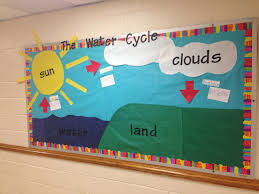 the water cycle bulletin board accomplished pinterest