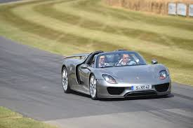old porsche 918 the porsche 918 spyder blows minds at the 2013 goodwood festival