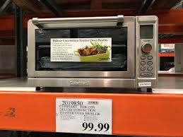 Reheating Pizza In Toaster Oven Costco Cuisinart Tob 135n Deluxe Convection Toaster Oven Broiler