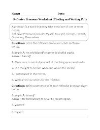 circling and writing reflexive pronouns worksheet  milcas pins  with circling and writing reflexive pronouns worksheet from pinterestcom