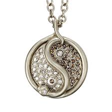 snake jewelry necklace images Snake yin yang necklace pav manon jewelry png