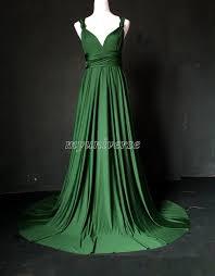deep green bridesmaid dress wedding dress infinity dress wrap