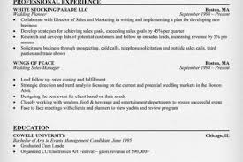 Event Planning Resume Samples by Event Planner Resume Example Download Sample Resume Example