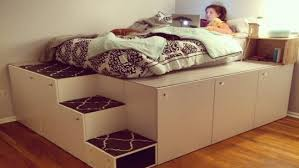 Mash Studios Platform Bed - 23 diy projects to make your boring bed better tiphero