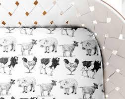 Farm Crib Bedding Farm Crib Bedding Etsy