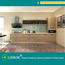 2017 linkok furniture laminated mdf kitchen cabinet and lacquer