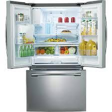 Samsung French Door Refrigerator Cu Ft - samsung 26 cu ft french door refrigerator with dual ice maker