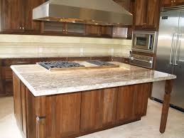 kitchen island granite overhang