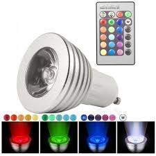 color changing light bulb with remote control gu10 led rgb colour changing light bulb 16 colour changing
