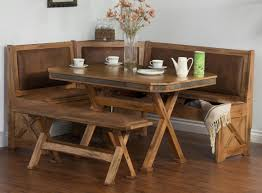 rustic breakfast nook set corner breakfast nook set