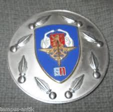 bureau du service national medaille en bronze argente et émaillé bureau du service national