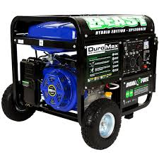 amazon com duromax xp12000eh dual fuel portable generator patio