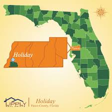 Real Estate Map Holiday Fl Subdivisions Homes And Condos Pasco County