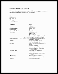 resume for high graduate with little experience sle sle resumes for high students with no experience 28