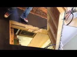 floor hatch gas struts youtube