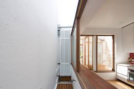 narrow homes a narrow house renovation in sydney for two retired teachers