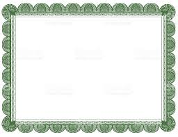certificate frame green document or certificate frame 85 x 11 stock photo more