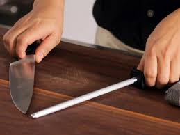 how to hone and sharpen knives food network