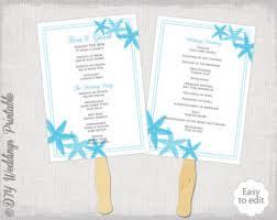 Program Fan Template Wedding Program Fan Template Rustic Burlap U0026 Lace
