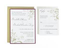 wedding invitations with pictures corner swirls free wedding invitation template