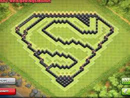 Superman Decoration Ideas by Epic Town Hall Th9 Farming Base Superman Design 4th Mortar Clash