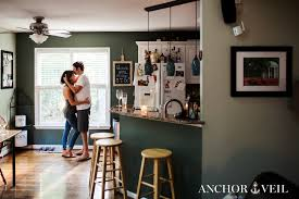 Dining Room Furniture Raleigh Nc Cozy Home Engagement Session Photographers In Charlotte Nc
