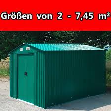Stabilo Bad Windsheim Geräteschuppen Gerätehaus Schuppen Gartenhaus Metall