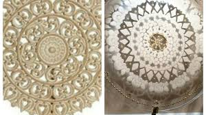 lace home decor diy high end dupe
