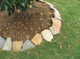 How To Build A Rock Garden Border Snyder Diy Landscape Border