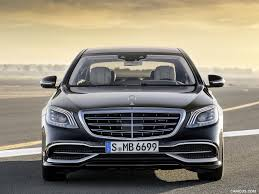 2018 mercedes maybach s class s650 black front hd wallpaper 27